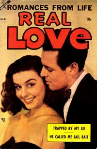 Cover Thumbnail for Real Love (Ace Magazines, 1949 series) #61