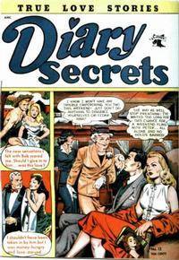 Cover Thumbnail for Diary Secrets (St. John, 1952 series) #13