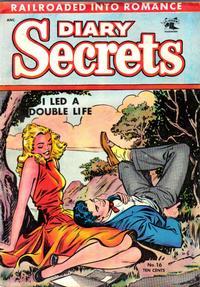 Cover Thumbnail for Diary Secrets (St. John, 1952 series) #16