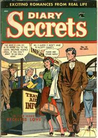 Cover Thumbnail for Diary Secrets (St. John, 1952 series) #18