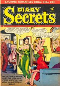 Cover Thumbnail for Diary Secrets (St. John, 1952 series) #22