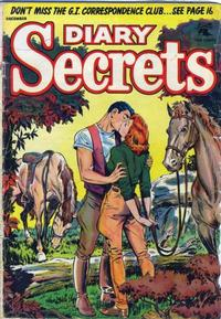 Cover for Diary Secrets (St. John, 1952 series) #26