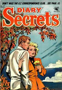 Cover Thumbnail for Diary Secrets (St. John, 1952 series) #27