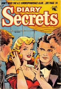 Cover Thumbnail for Diary Secrets (St. John, 1952 series) #28