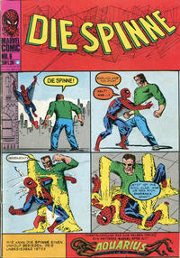 Cover Thumbnail for Die Spinne (BSV - Williams, 1974 series) #6