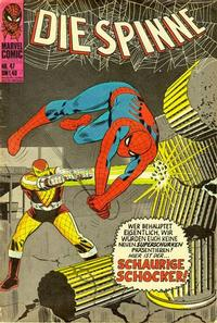 Cover Thumbnail for Die Spinne (BSV - Williams, 1974 series) #47