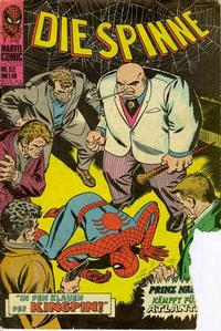 Cover Thumbnail for Die Spinne (BSV - Williams, 1974 series) #52