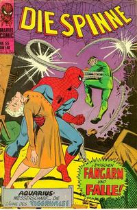 Cover Thumbnail for Die Spinne (BSV - Williams, 1974 series) #55
