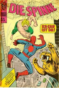 Cover Thumbnail for Die Spinne (BSV - Williams, 1974 series) #58