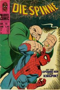 Cover for Die Spinne (BSV - Williams, 1974 series) #70