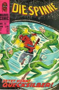 Cover Thumbnail for Die Spinne (BSV - Williams, 1974 series) #72