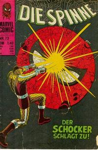 Cover Thumbnail for Die Spinne (BSV - Williams, 1974 series) #73
