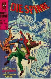 Cover Thumbnail for Die Spinne (BSV - Williams, 1974 series) #75