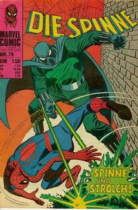 Cover Thumbnail for Die Spinne (BSV - Williams, 1974 series) #79