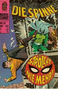 Cover for Die Spinne (BSV - Williams, 1974 series) #80