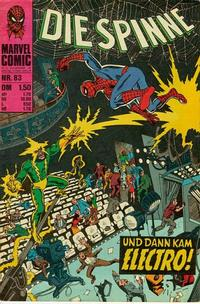 Cover Thumbnail for Die Spinne (BSV - Williams, 1974 series) #83
