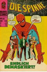 Cover Thumbnail for Die Spinne (BSV - Williams, 1974 series) #88
