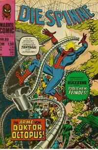 Cover Thumbnail for Die Spinne (BSV - Williams, 1974 series) #89