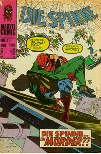 Cover Thumbnail for Die Spinne (BSV - Williams, 1974 series) #91