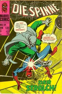 Cover Thumbnail for Die Spinne (BSV - Williams, 1974 series) #94