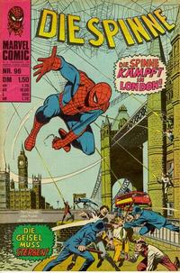 Cover Thumbnail for Die Spinne (BSV - Williams, 1974 series) #96