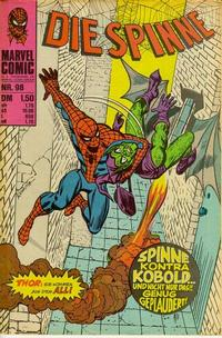 Cover Thumbnail for Die Spinne (BSV - Williams, 1974 series) #98