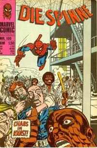Cover Thumbnail for Die Spinne (BSV - Williams, 1974 series) #100