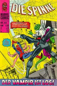 Cover Thumbnail for Die Spinne (BSV - Williams, 1974 series) #103
