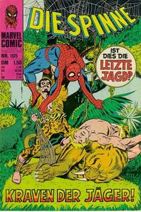 Cover Thumbnail for Die Spinne (BSV - Williams, 1974 series) #105