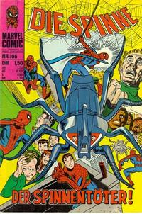 Cover Thumbnail for Die Spinne (BSV - Williams, 1974 series) #106