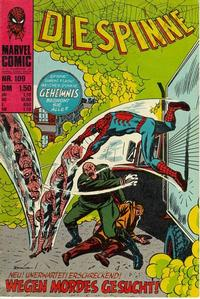 Cover Thumbnail for Die Spinne (BSV - Williams, 1974 series) #109