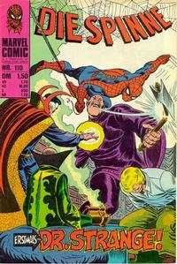 Cover Thumbnail for Die Spinne (BSV - Williams, 1974 series) #110