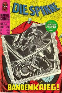 Cover Thumbnail for Die Spinne (BSV - Williams, 1974 series) #114
