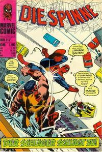 Cover Thumbnail for Die Spinne (BSV - Williams, 1974 series) #117