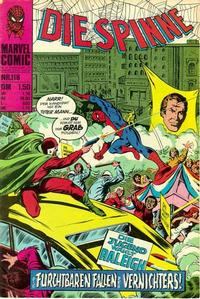 Cover Thumbnail for Die Spinne (BSV - Williams, 1974 series) #118