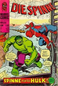 Cover Thumbnail for Die Spinne (BSV - Williams, 1974 series) #120