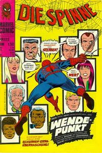 Cover Thumbnail for Die Spinne (BSV - Williams, 1974 series) #122