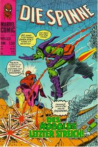 Cover Thumbnail for Die Spinne (BSV - Williams, 1974 series) #123