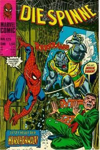 Cover Thumbnail for Die Spinne (BSV - Williams, 1974 series) #125