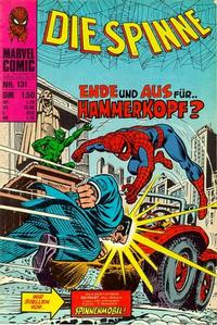 Cover Thumbnail for Die Spinne (BSV - Williams, 1974 series) #131