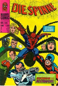 Cover Thumbnail for Die Spinne (BSV - Williams, 1974 series) #136