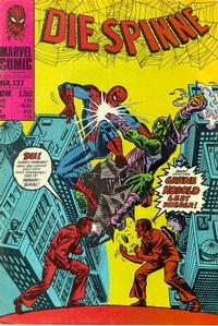 Cover Thumbnail for Die Spinne (BSV - Williams, 1974 series) #137