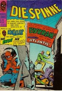 Cover Thumbnail for Die Spinne (BSV - Williams, 1974 series) #20