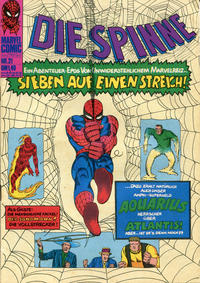 Cover Thumbnail for Die Spinne (BSV - Williams, 1974 series) #21