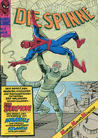 Cover Thumbnail for Die Spinne (BSV - Williams, 1974 series) #22