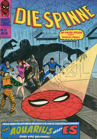 Cover Thumbnail for Die Spinne (BSV - Williams, 1974 series) #24
