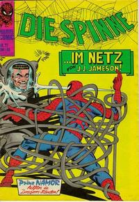Cover Thumbnail for Die Spinne (BSV - Williams, 1974 series) #27