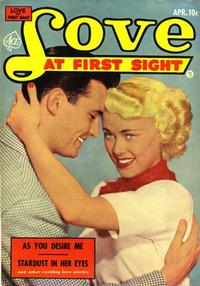 Cover Thumbnail for Love at First Sight (Ace Magazines, 1949 series) #21