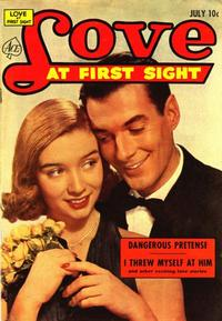 Cover Thumbnail for Love at First Sight (Ace Magazines, 1949 series) #22