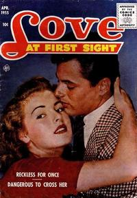 Cover Thumbnail for Love at First Sight (Ace Magazines, 1949 series) #34
